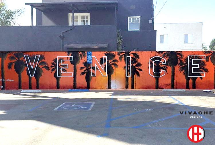 Vivache Designs 3D Venice Sign Mural Los Angeles.jpg