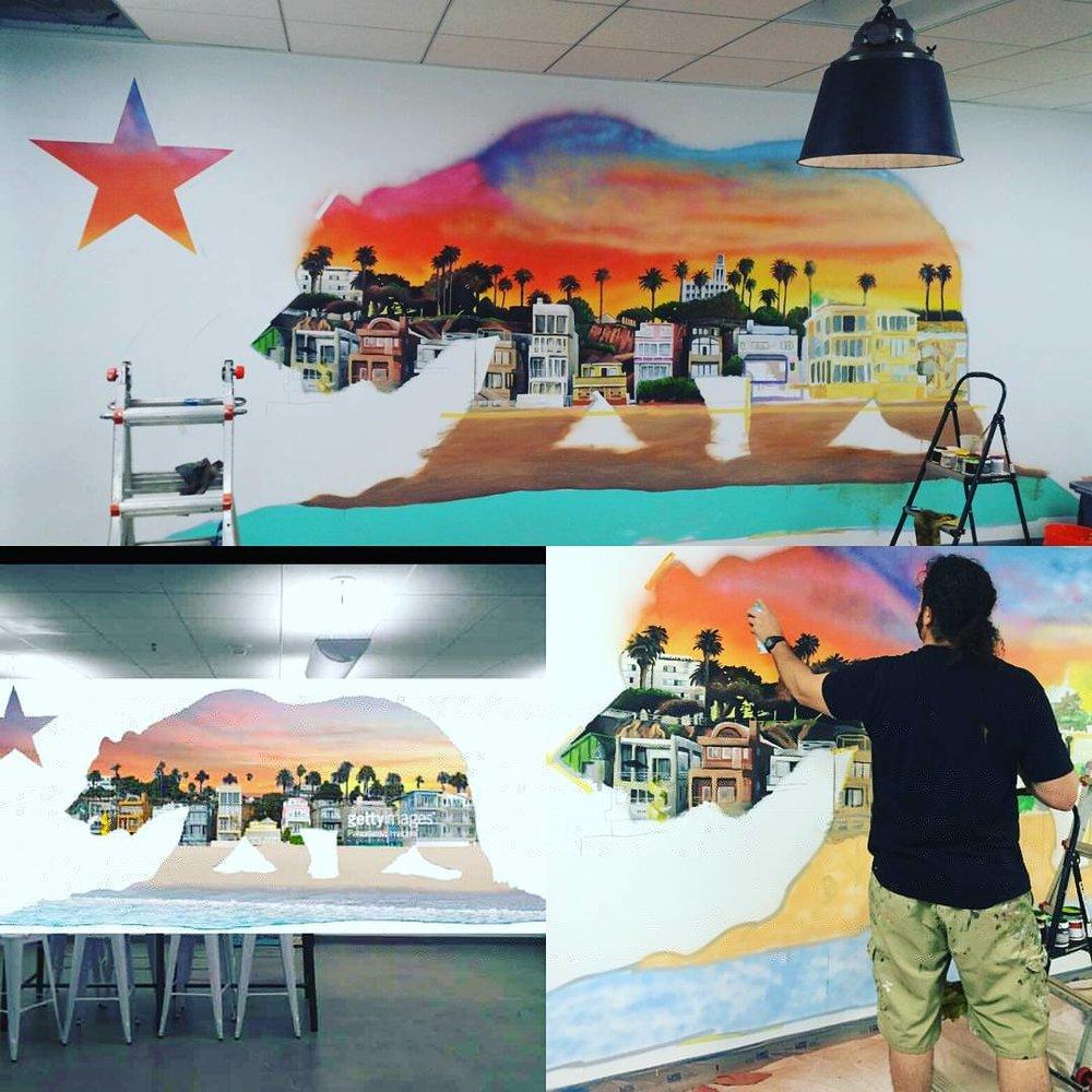 VIVACHE DESIGNS Mural Painter Muralist Mural Artist Commercial
