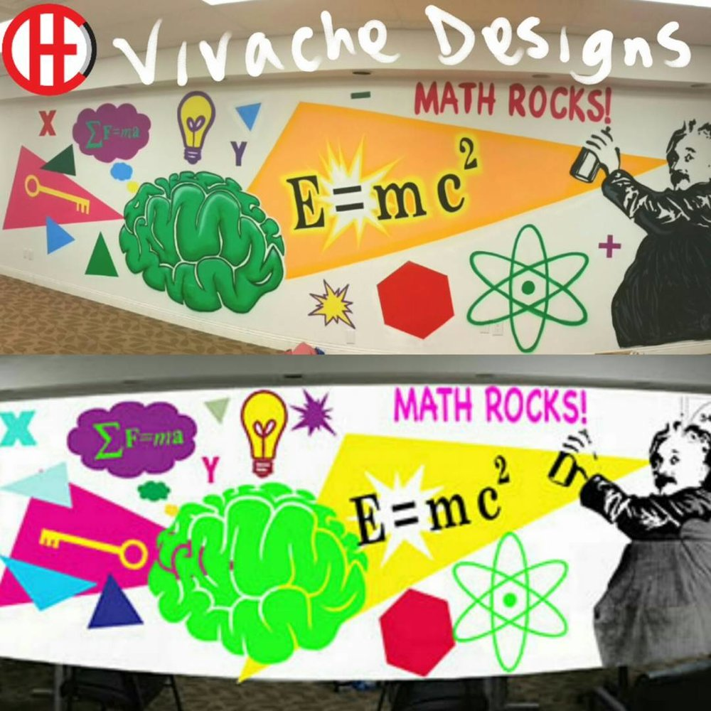 Mural Painting done right the first time Vivache Designs