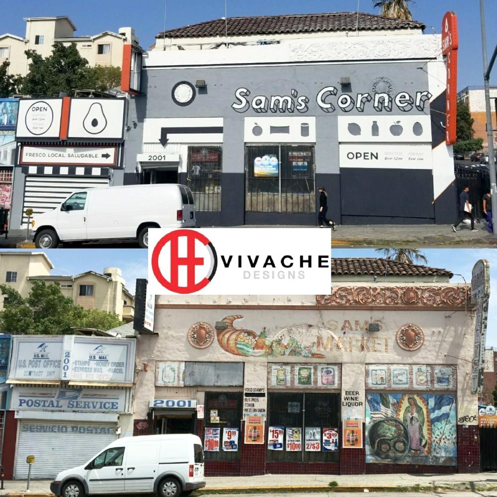 Sam's Corner Before and After Vivache Designs Murals  .jpg
