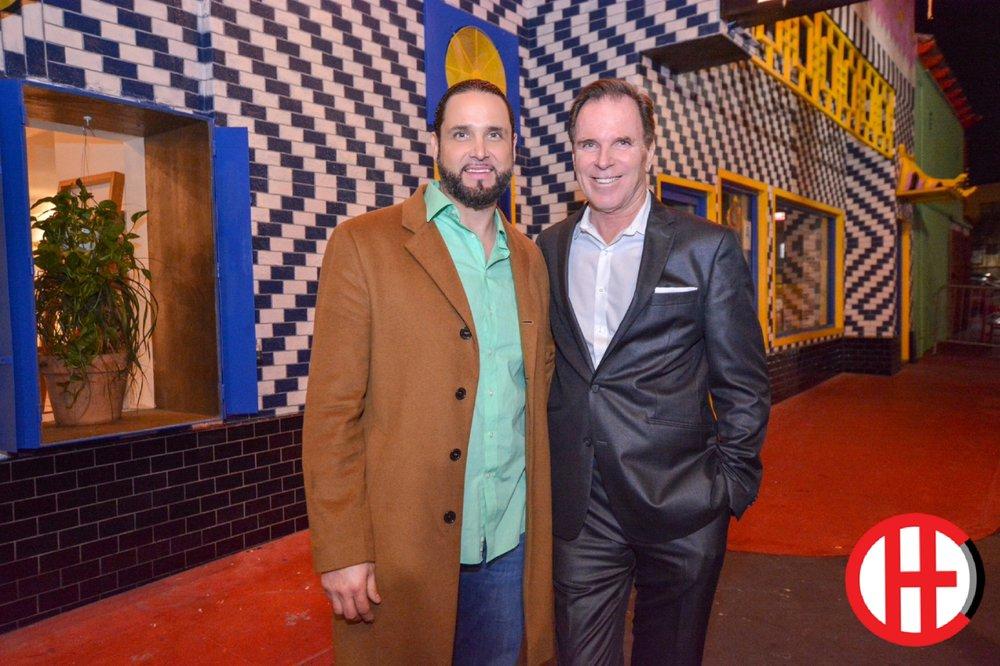 Michael Che Romero (Left), Tom Gilmore (Right)