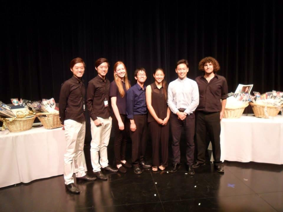 Twincussion got Second Prize of Southern California International Marimba Competition