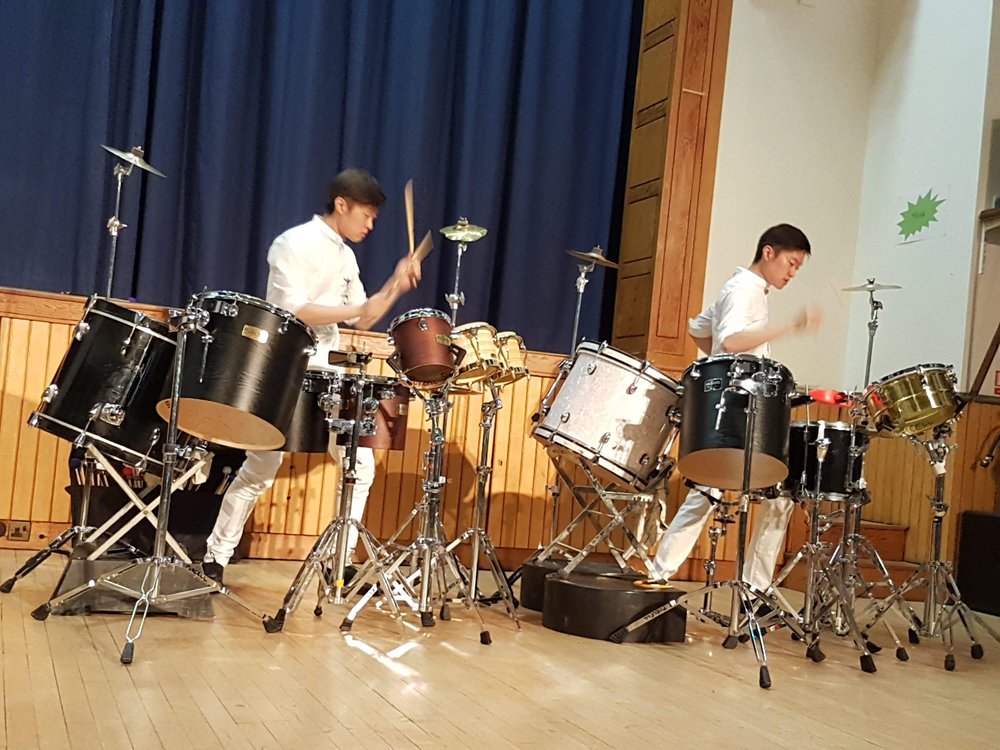 opening concert in Southern percussion youth competition