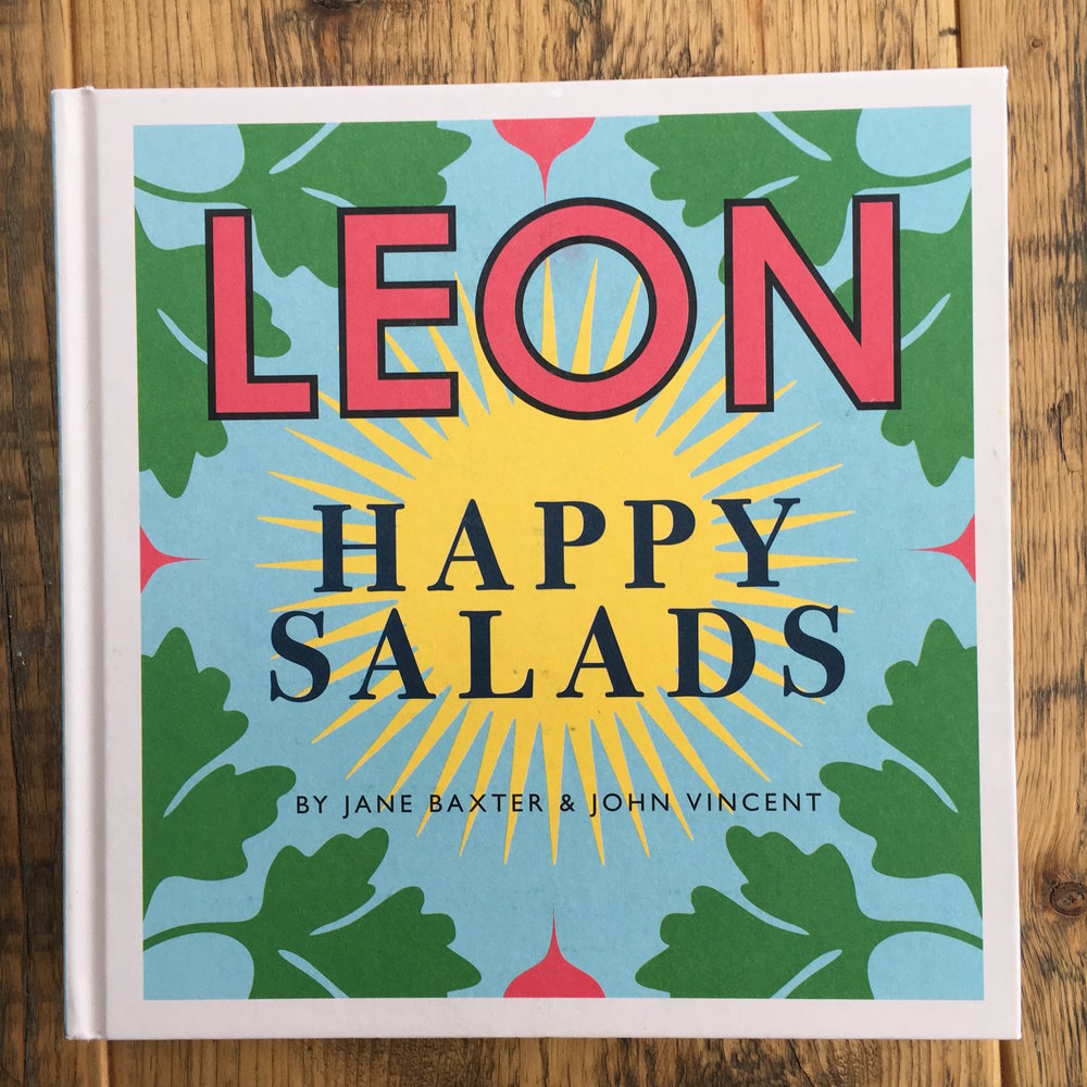 The Preggers Kitchen Leon Happy Salad cookbook