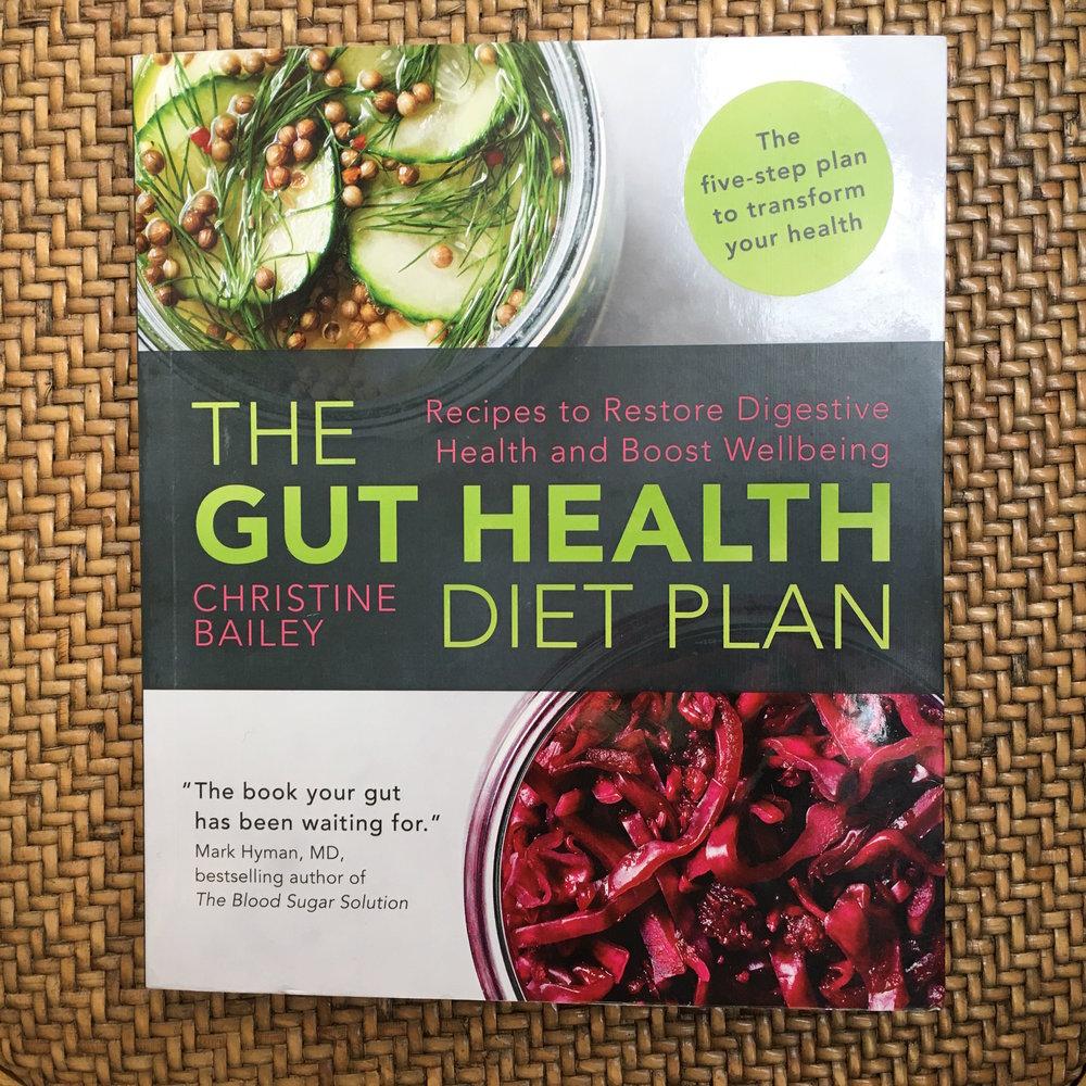 The Gut Health Diet Plan cookbook on the Preggers Kitchen