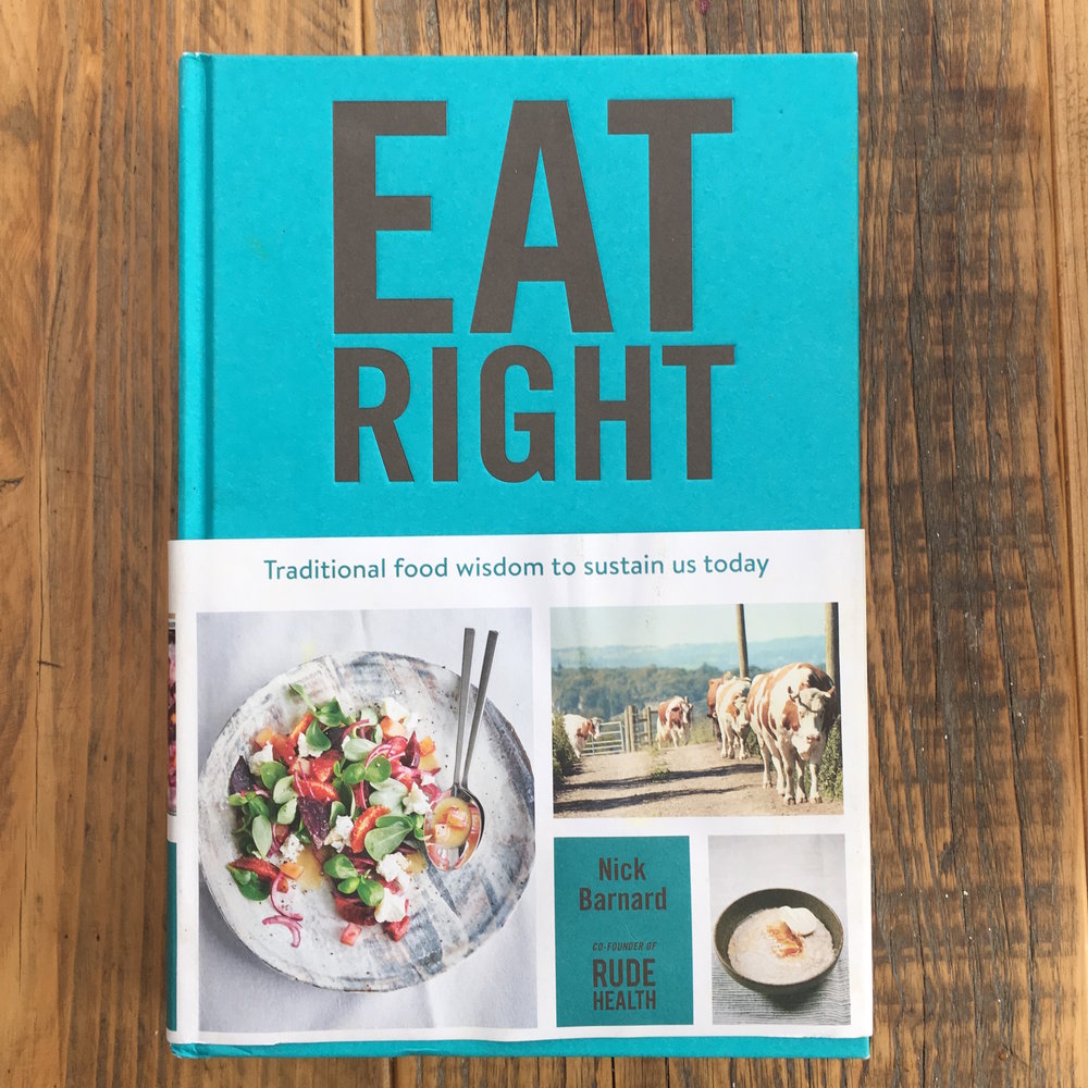 Eat Real Food cookbook on The Preggers Kitchen