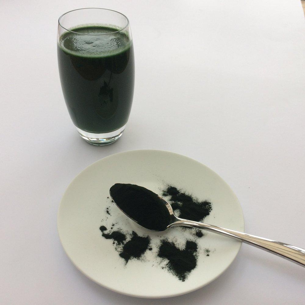 Algae for detoxifcation The Preggers Kitchen
