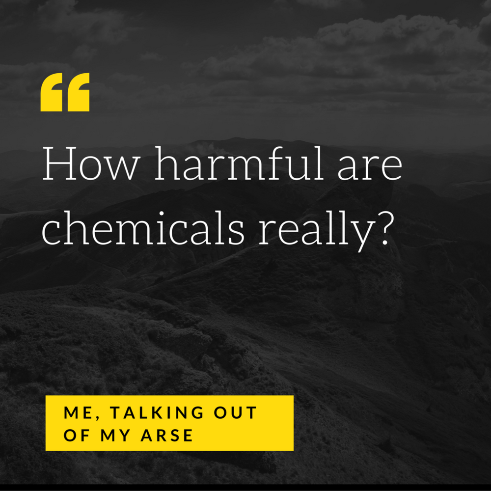 How harmful are chemicals?  The preggers kitchen
