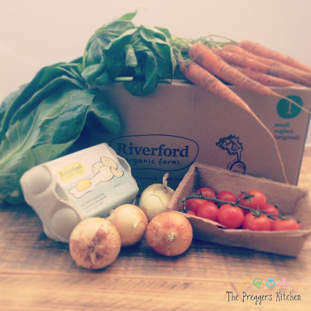 Veg box The Preggers Kitchen