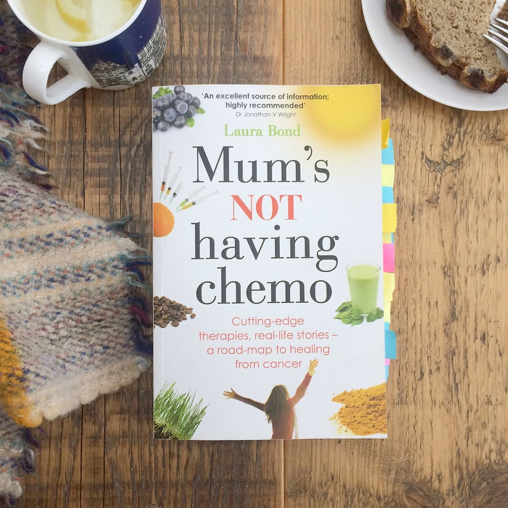 Mum's not having chemo The Preggers Kitchen - fertility inspiration