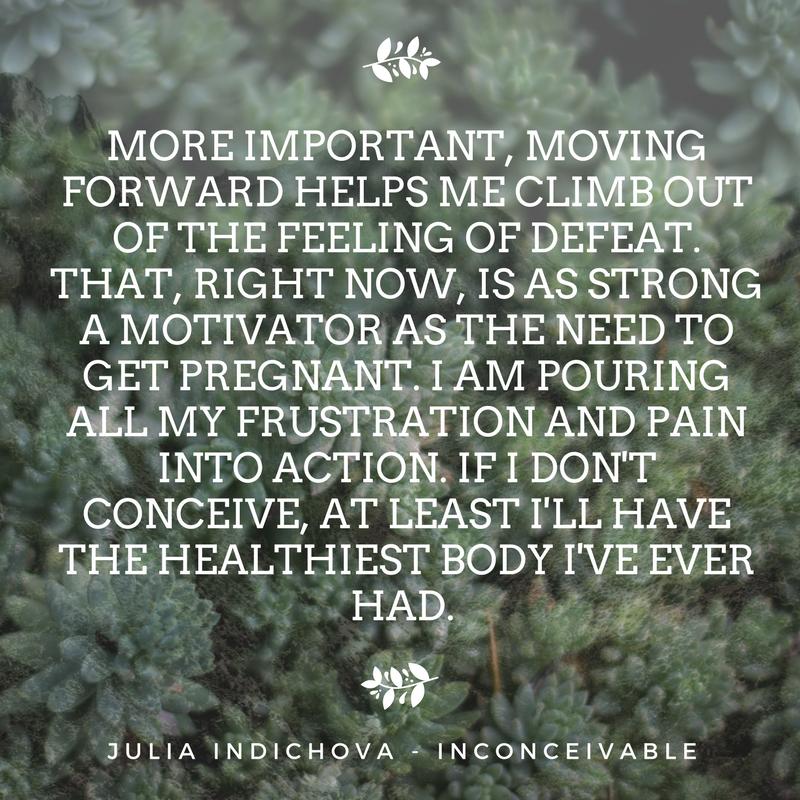 infertility inspirational quote - The Preggers Kitchen