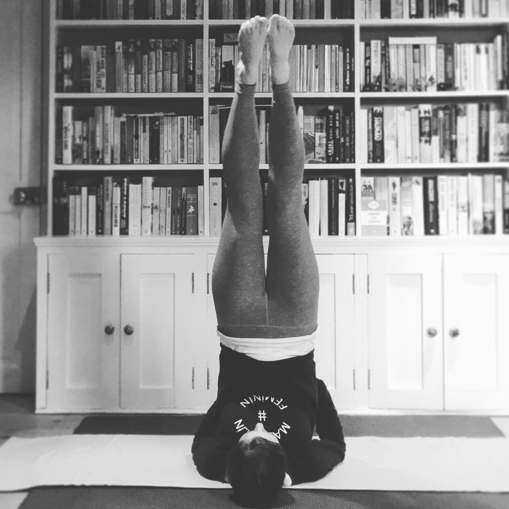 yoga to relieve stress for fertility - The Preggers Kitchen