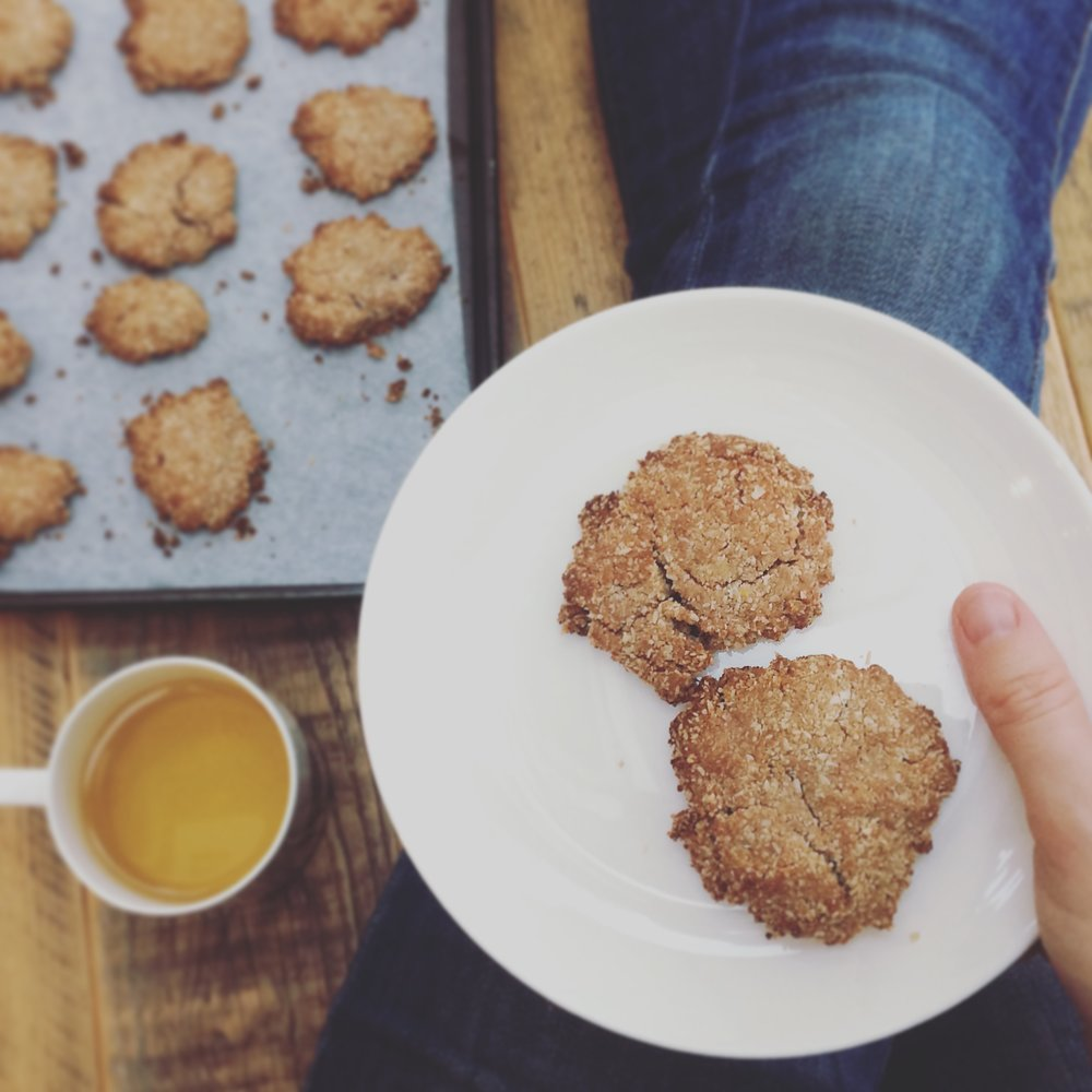 Gluten free ginger biscuits (page 260)