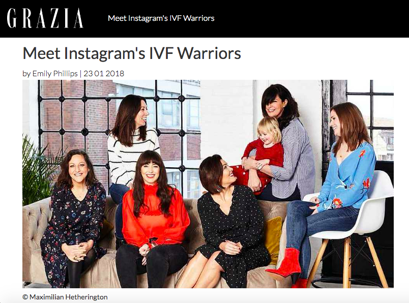 Grazia IVF warriors - the preggers kitchen