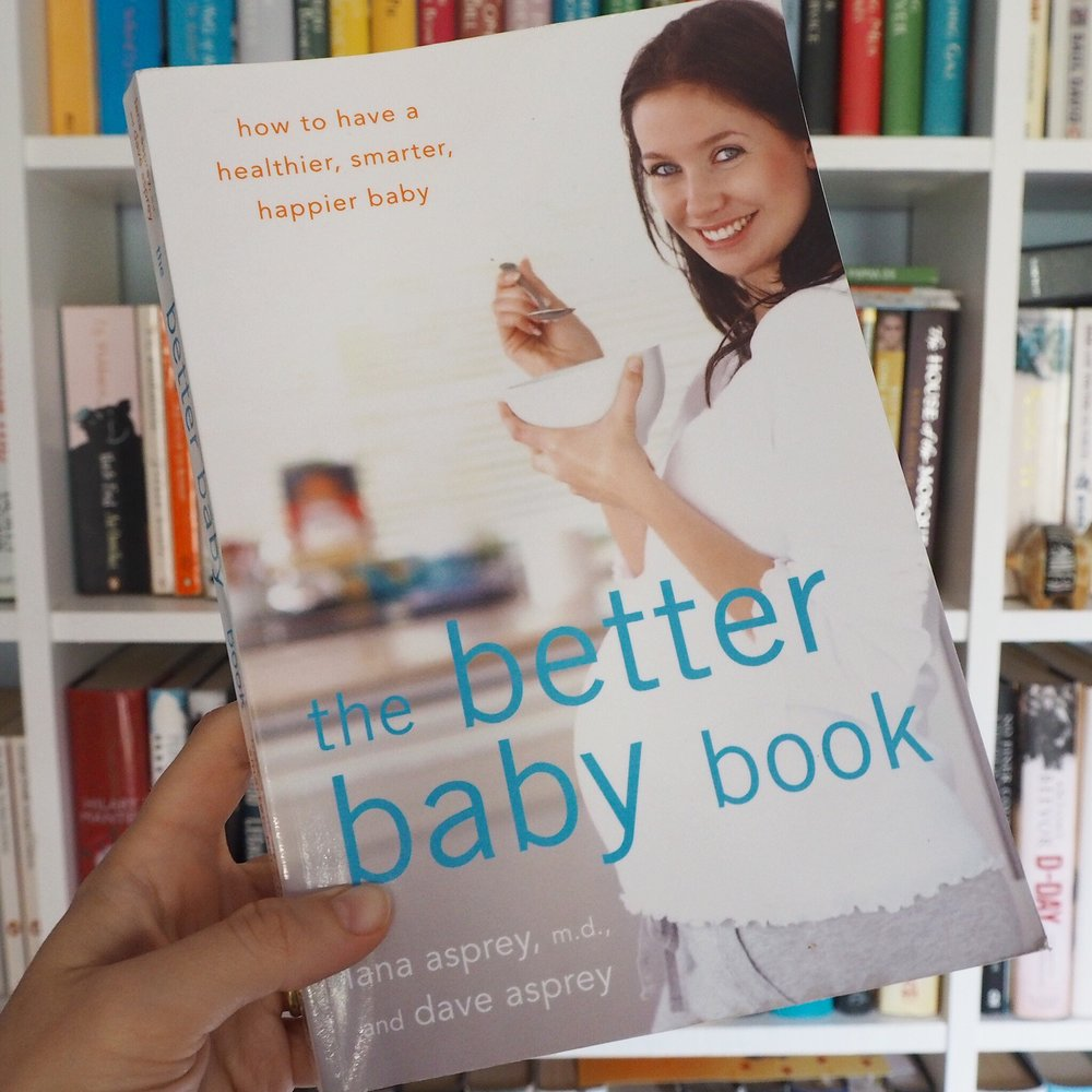 Book review of The Better Baby Book by Lana Asprey and Dave Asprey