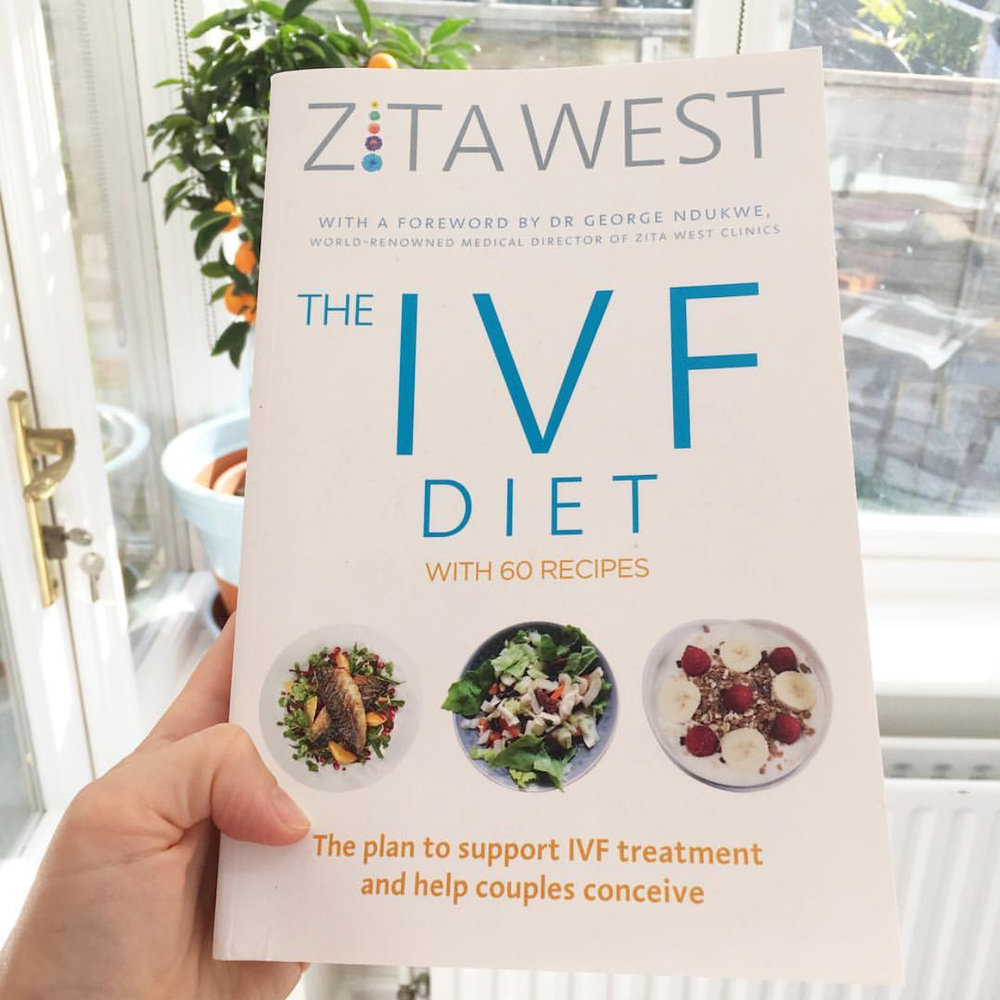 Book review of The IVF Diet by Zita West