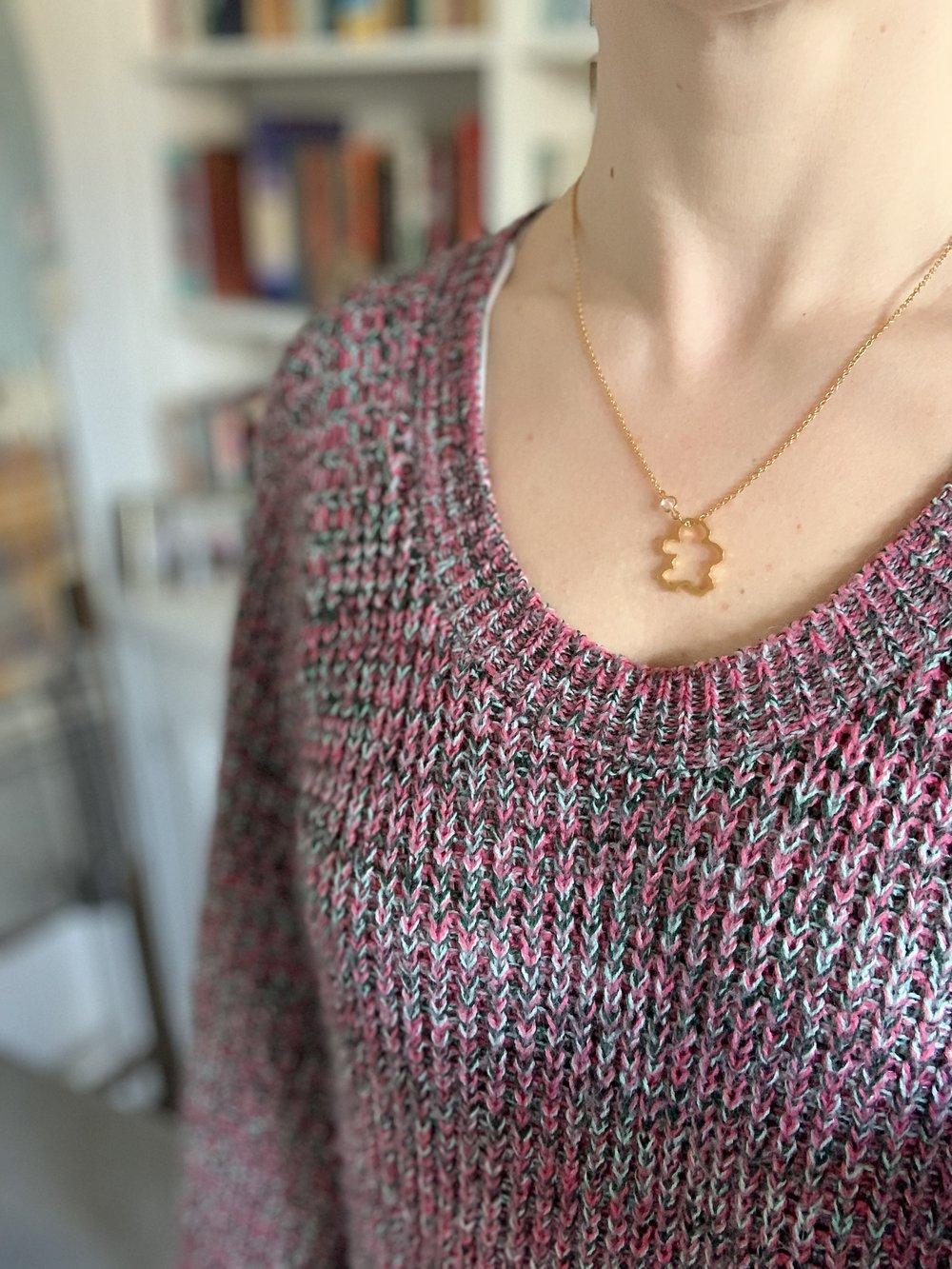 Jizo and Chibi necklace for fertility