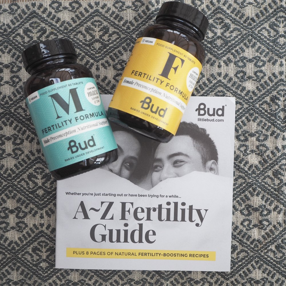 Bud Fertility supplements giveaway