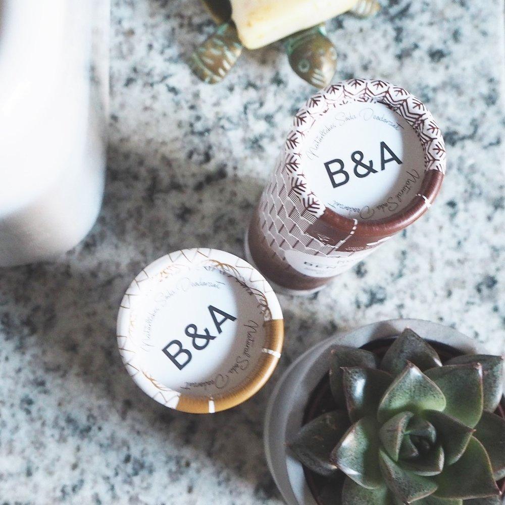 Ben & Anna natural deodorants giveaway