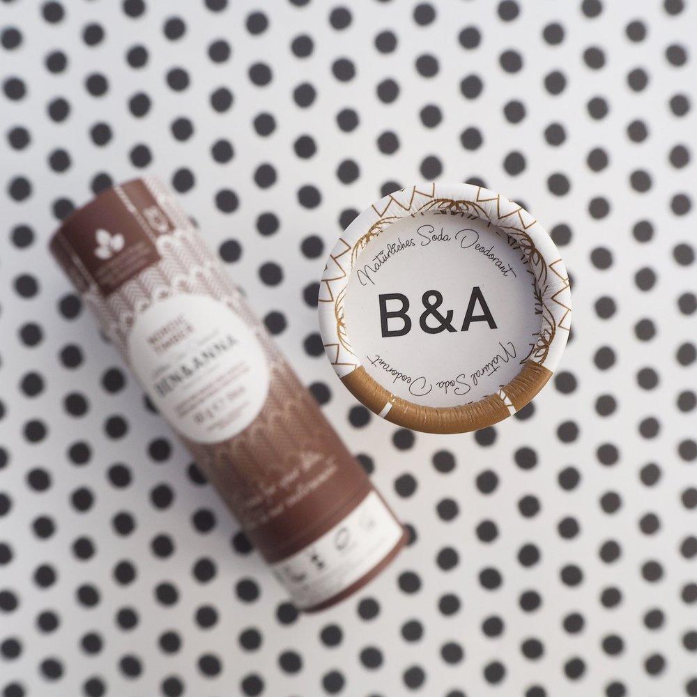 Ben & Anna natural deodorant giveaway