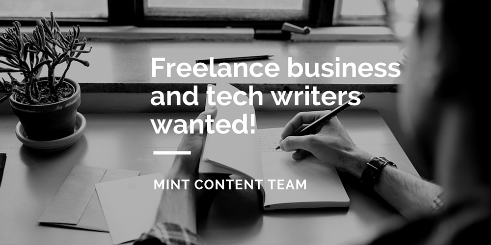 Wanted freelance writers