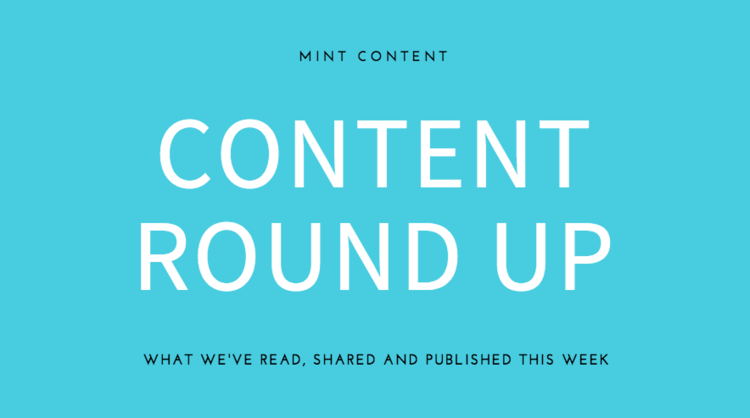 weekly content writing wrap