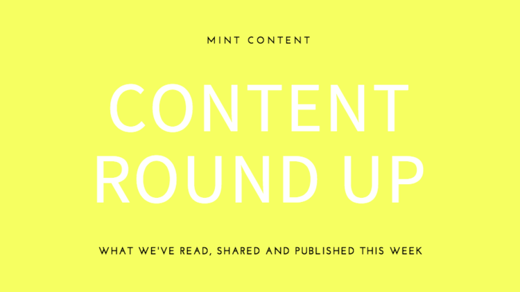 Mint content round up header
