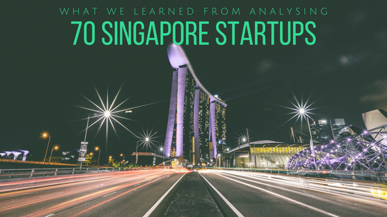 Singapore startups content analysis