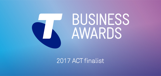 Telstra ACT Business Awards finalist Mint Content 2017
