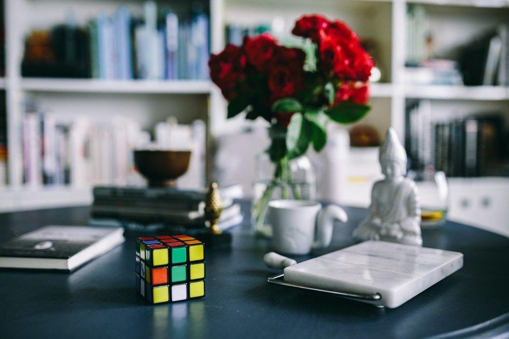Plain English rubix cube