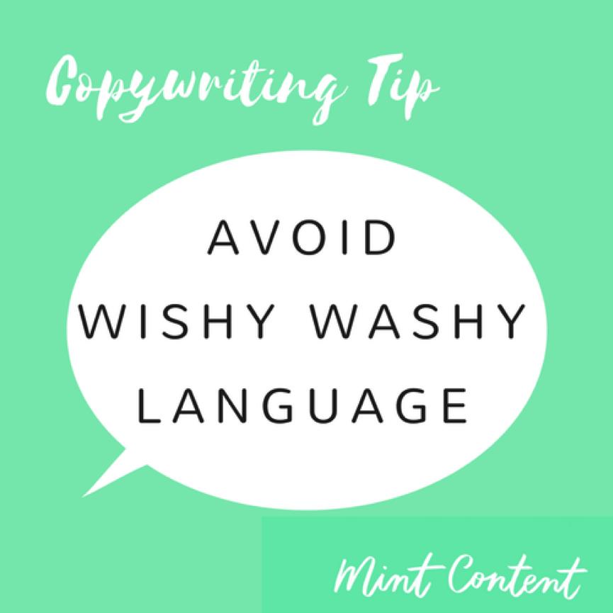 Copywriting tip