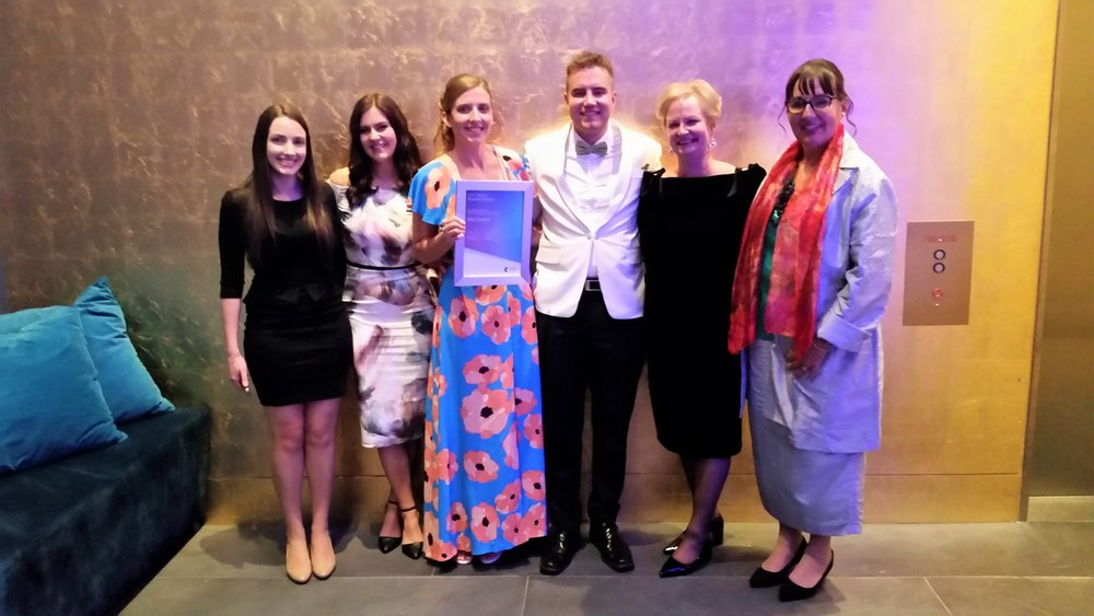 Mint Content team Telstra Awards