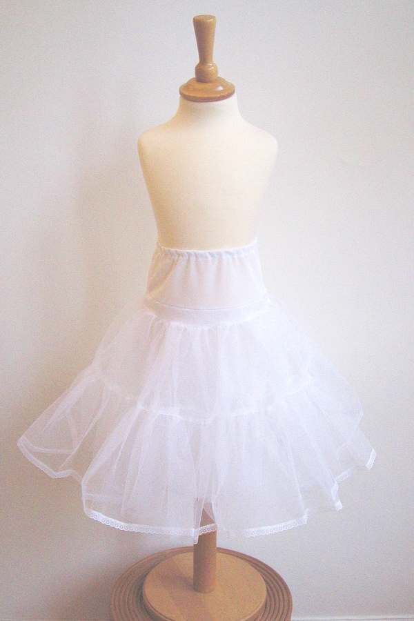 girl's princess petticoat