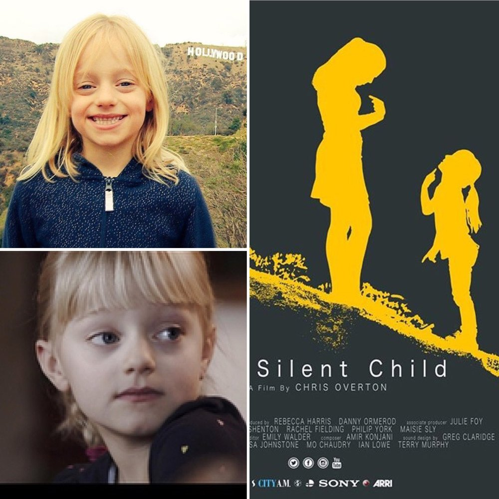Recommended by the talented & experienced team at women's wear designer Suzanne Neville, it was an absolute delight to be involved. In a way it was a chance to support 'The Silent Child' – a touching film with an essential message, of the difficulty of living with a disability in what can be a unforgiving world.  It highlights the important fact that deafness does not have to limit anyone's capabilities if they have the right support; and Maisie, who is profoundly deaf, has proved that to be true.    It was a fun & creative session when Maisie and her mother, who is wearing Bella Bevan (Little Bevan's capsule adult collection), visited the boutique in Pimlico. Maisie selected a few styles that caught her eye, giving each one a good 'twirl test'. Her favourite was the 'Josephine' dress – but made in her favourite colour navy. Designer & owner, Sarah Colfer, tweaked the design to suit her wishes, and added perfect customised accessories with a bit of sparkle, to create her dream dress for the red carpet.    With over 10 years' experience producing enchanting outfits in the heart of London, Little Bevan clothes travel the world to some of the most memorable occasions: an arty, beach-side wedding Brazil; a stunning cliff-top location in South Africa; a cello performance Athens; a magical celebration at the Paris Opera; a family Christmas at their ancient Scottish castle; to the glitz of Miami… but a trip to the Oscars in Hollywood is a first!    Maisie is a super bright girl from a wonderful family. The whole family must be enjoying this incredible Oscar experience. The film's writer & actor Rachel Shenton and director Chris Overton deserve every accolade for the film: the team at Little Bevan are keeping their fingers crossed for a wonderful result!   With thanks to:-  Lucy Johnston and team at This Morning   www.itv.com/thismorning    Rainbow Club UK for providing shoes to match (Maisie's choice, naturally, was their children's style 'maisie'!)   www.rainbowclub.co.uk   Lily Bella for their crystal Scarlett belt, hand sewn on by Sarah to highlight the bodice  www.lilybella.co.uk   For dress fabrics: Bennett Silks   www.bennett-silks.co.uk  ;  Bernstein & Banley  www.theliningcompany.co.uk    and MacCulloch & Wallis haberdashery    www.macculloch-wallis.co.uk
