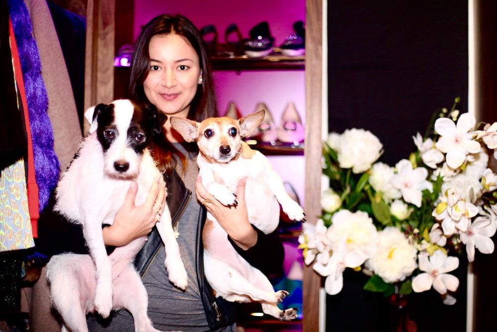 Joanna, Kimchi, Milo & Lola