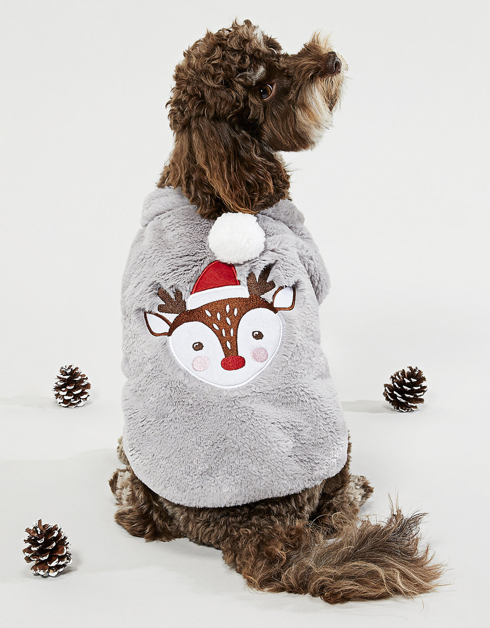 Furry Reindeer Jumper - Accessorize