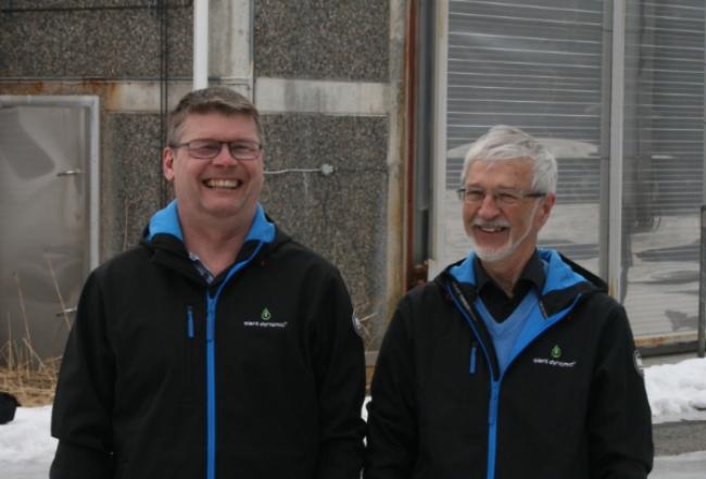 Från vänster:Thomas Landström och Eric Björkman, Alent Dynamic AB