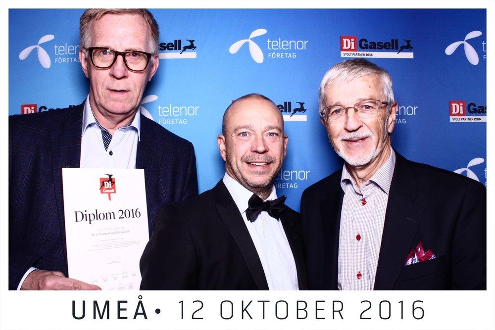 Von links: Staffan Ruuth CEO, Peder Bjorkman Gründer/CTO and Eric Björkman Gründer/Forschung & Entwicklung, Alent Dynamic AB.