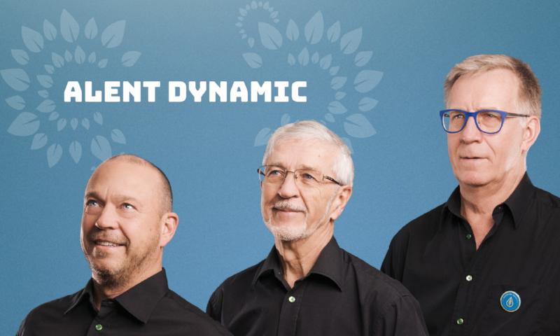 Från vänster: Peder Björkman, Eric Björkman och Staffan Ruuth Alent Dynamic