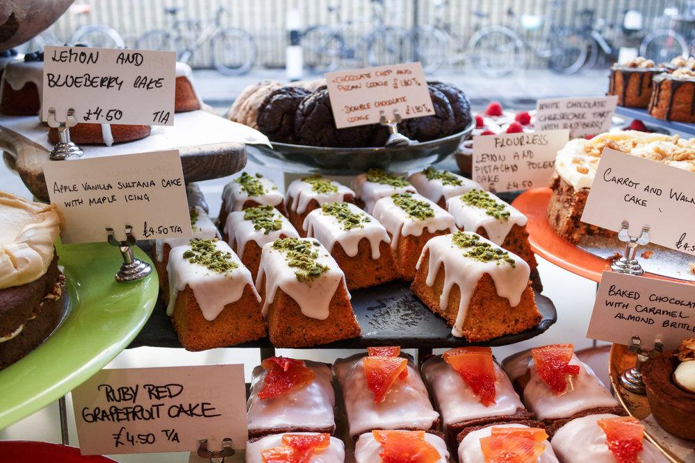 Lemon pistachio polenta mini cakes from Ottolenghi Spitalfields