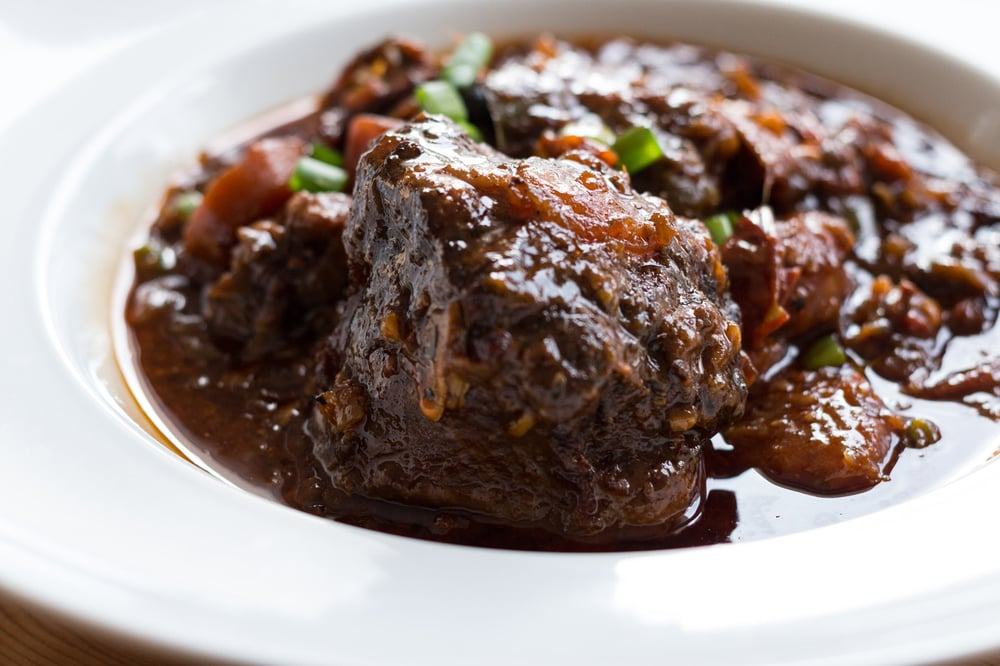 Slow-cooked Oxtails