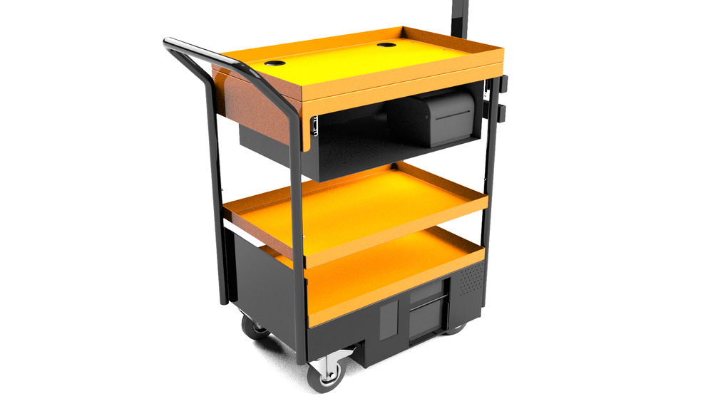 MPS1000 Mobile Picking Station Computer on Wheels