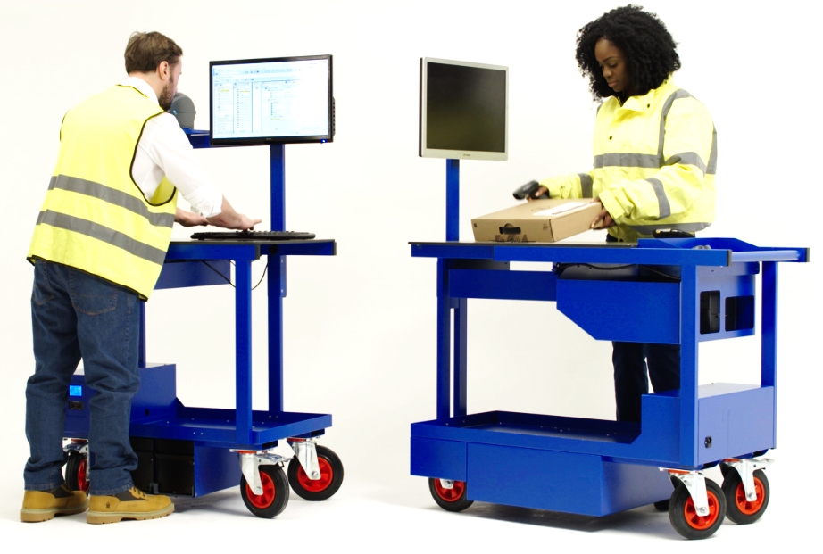 Falcona Solutions Mobile Workstations - Large and Medium