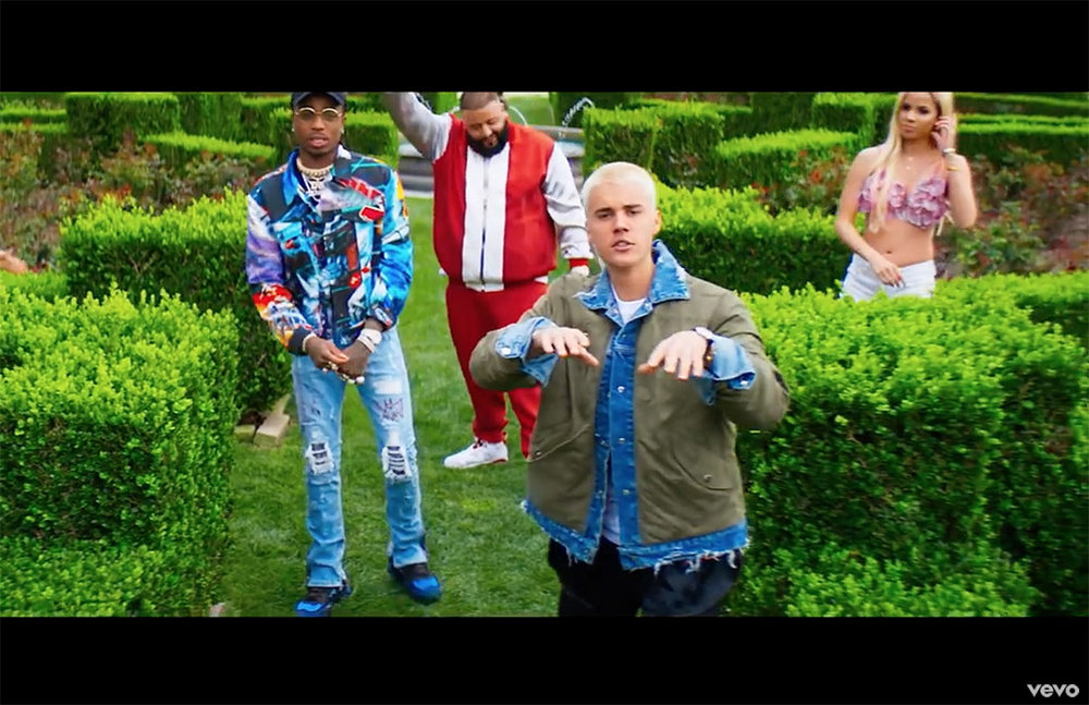 DJ KHALED - I'M THE ONE -video featuring JUSTIN BIEBER & QUAVO from MIGOS [Wearing Custom MJB Crixus Jeans]