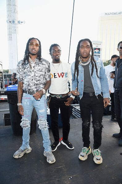 MIGOS at the iHEART RADIO MUSIC FESTIVAL