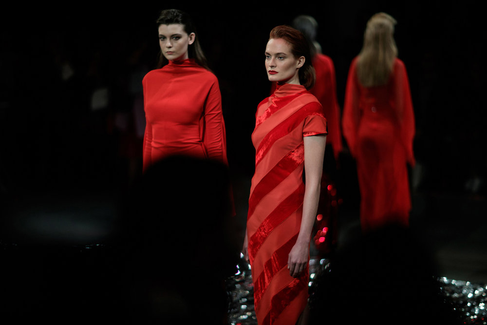 More AW18 images and information about P  AULA KNORR
