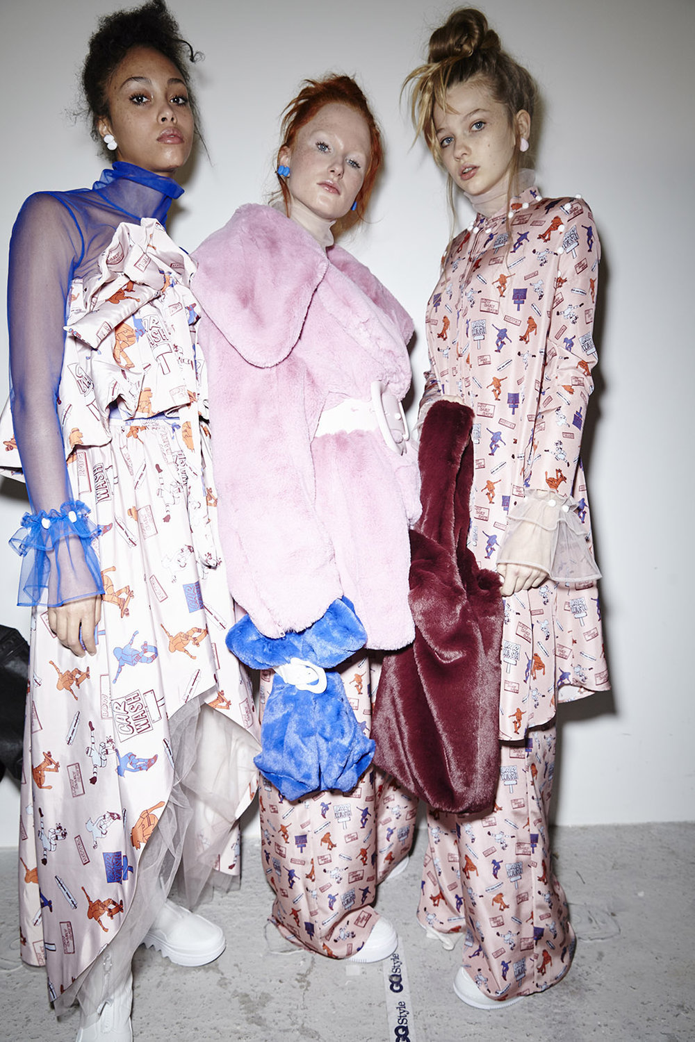 More AW18 Images & Information about XIAO LI