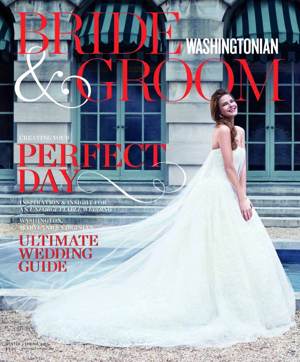 Washingtonian Bride & Groom // Spring 2013