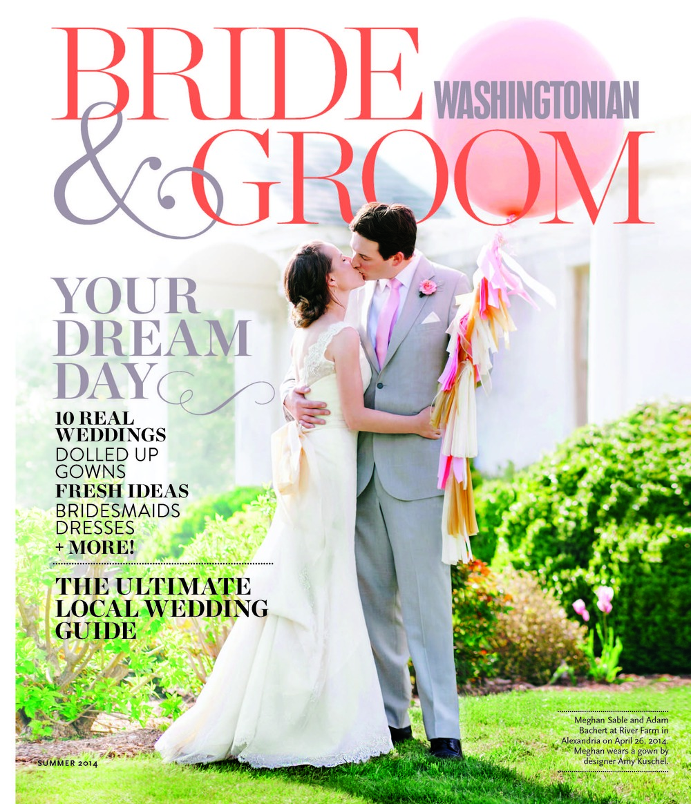 Washingtonian Bride & Groom // Summer 2014