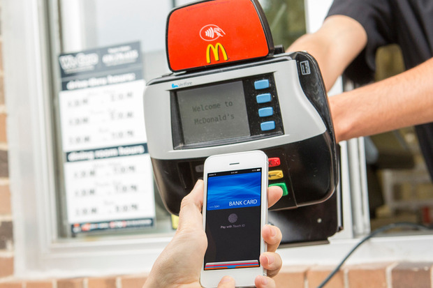 McDonald's and Apply Pay